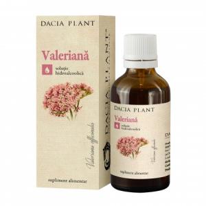 Valeriana tinctura 50 ml Dacia Plant