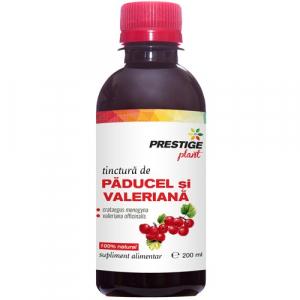 Tinctură Păducel și Valeriană 200 ml (hipertensiune, relaxare)