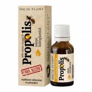 Propolis - tinctura fara alcool cu picurator 20 ml Dacia Plant