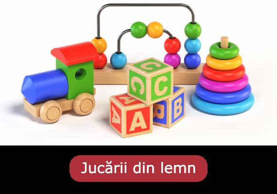 Jucării din lemn