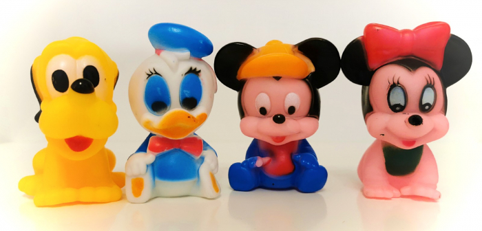 Set jucării chiţăitoare personaje Mickey Mouse [0]