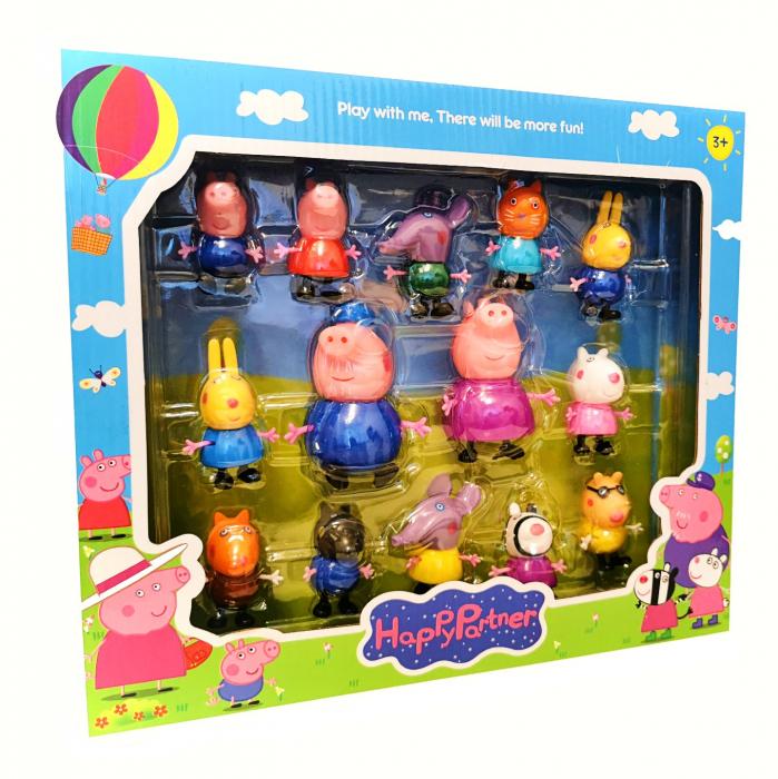 Set 15 figurine Peppa Pig [0]
