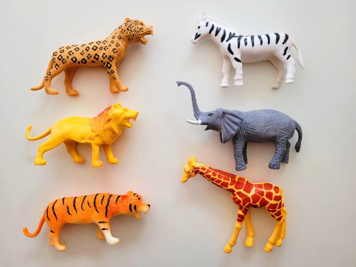 Set 6 figurine animale din junglă [0]