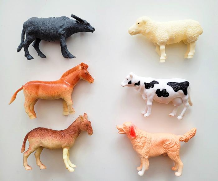 Set 6 figurine animale de la fermă 2 [0]