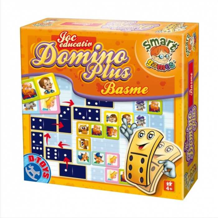 Joc Educativ Domino Plus -  Basme [0]