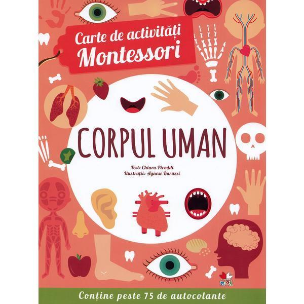 Carte de activități Montessori. Corpul uman [0]