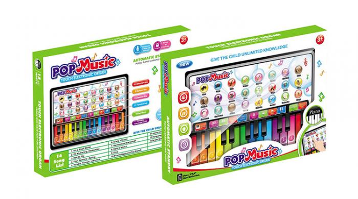 Orgă de jucărie cu touch Pop Music Touch electronic organ [0]