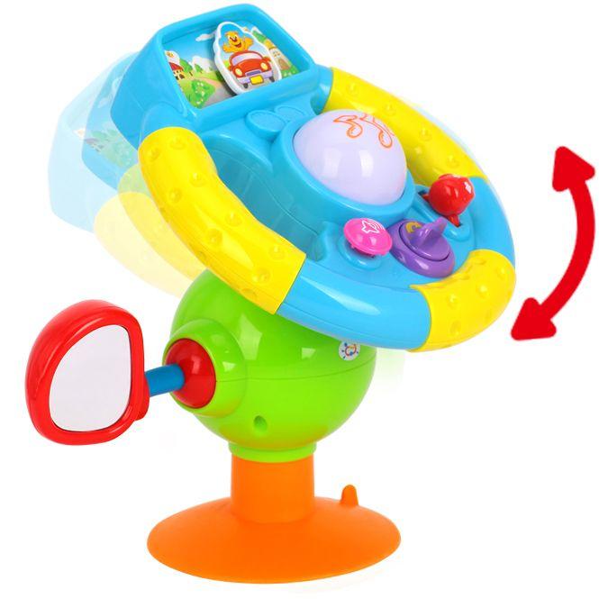 Jucărie multifuncţională volan muzical HOLA [2]