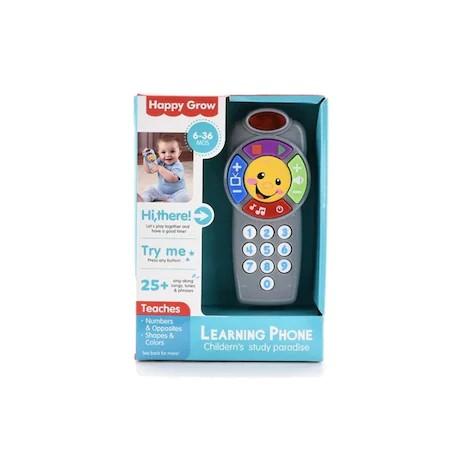 Telefon interactiv de jucărie cu sunete - Learning Phone Happy Grow [1]