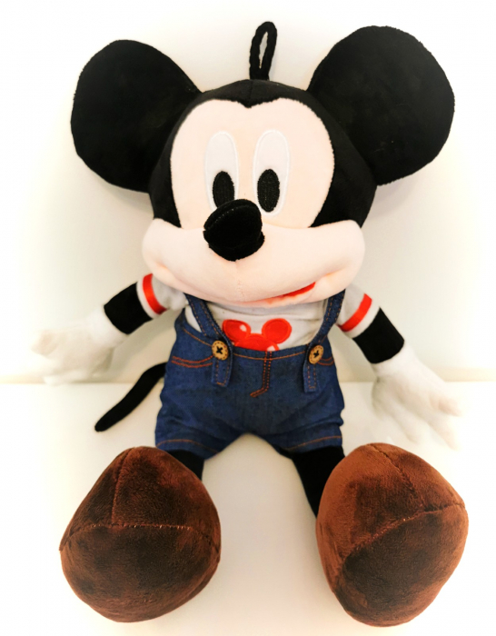 Figurină de pluş MICKEY MOUSE în jeans 41 cm [0]