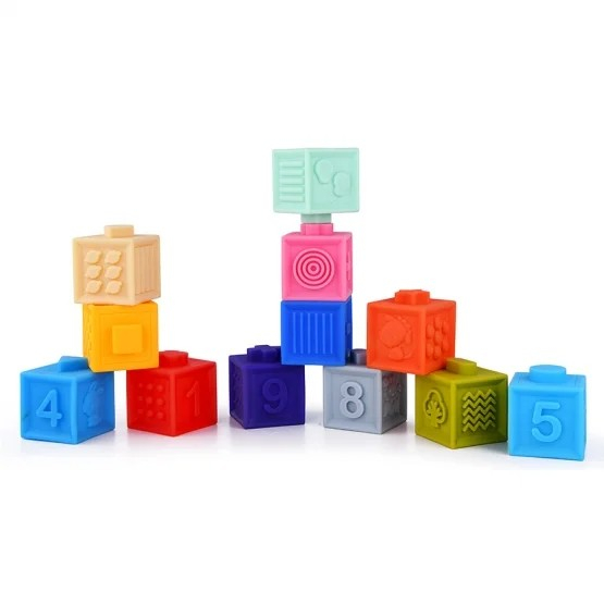 Cuburi moi bebeluși - Stack Squeeze blocks Kaichi [1]