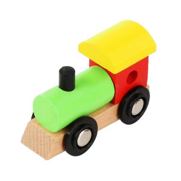 Trenuleţ din lemn cu numere de la 0 la 9 Goodcow [2]