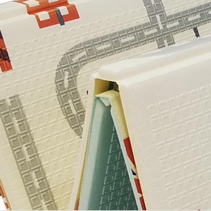 Covoraș de joacă pliabil din spumă cu 2 fețe. Dimensiune 150 cm x 200 cm x 1 cm model London [2]