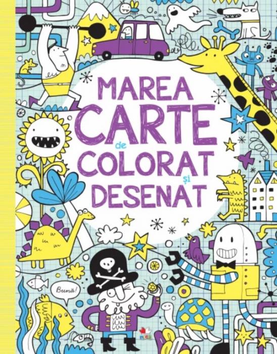 Marea carte de colorat și desenat [0]