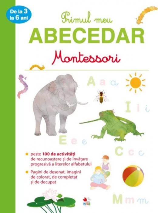 Primul meu abecedar Montessori de la 3 la 6 ani [0]