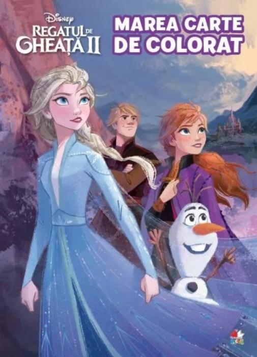 Disney. Regatul de gheaţă II. Marea carte de colorat [0]