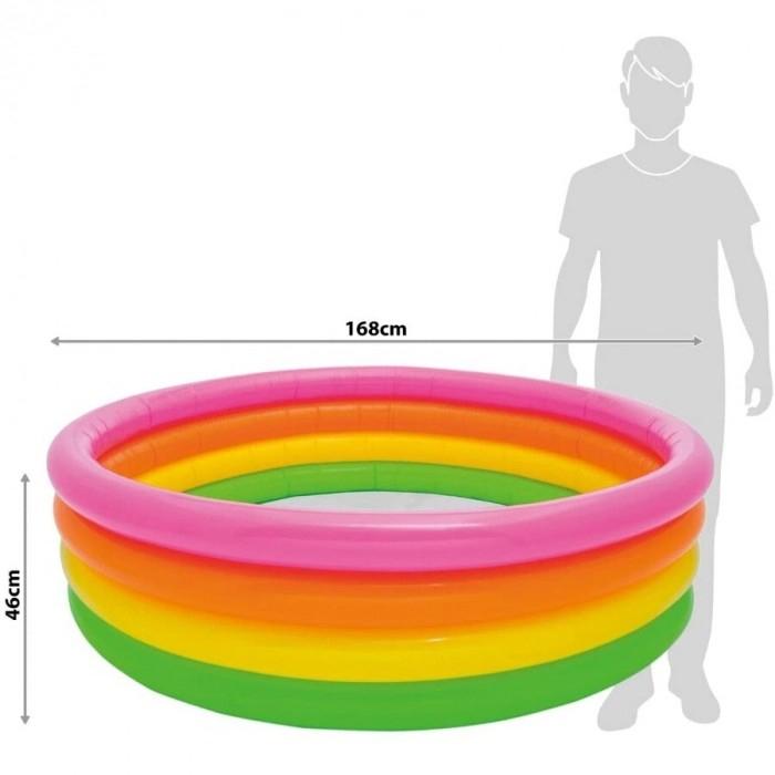 Piscină gonflabilă pentru copii INTEX Sunset Glow 168 cm x 46 cm [2]