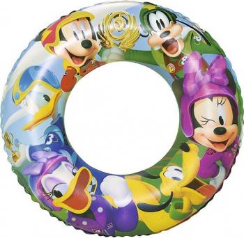 Colac gonflabil BESTWAY 56 cm Mickey și Piloții de Curse - Mickey and the Roaster Racers [0]