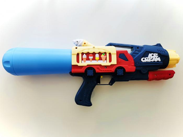 Pistol cu apă cu design camion înghețată [0]