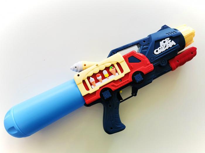 Pistol cu apă cu design camion înghețată [1]