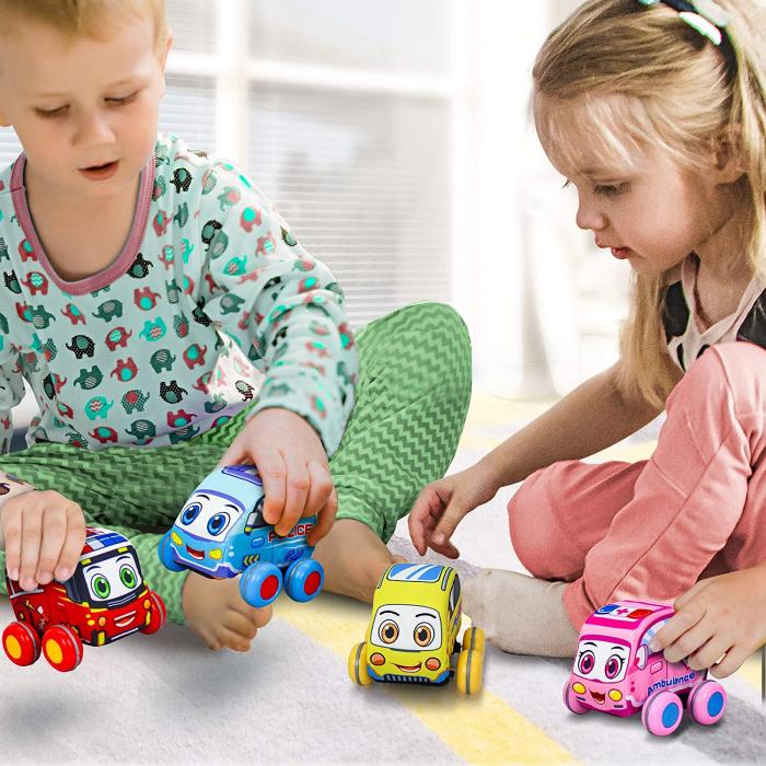 Set 4 mașinuțe din material textil [2]