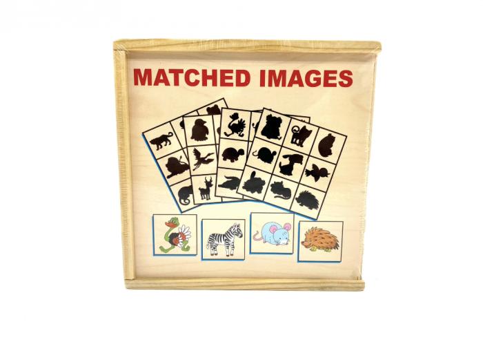 Jocul umbrelor - joc de asociere de tip Montessori - Animale [1]