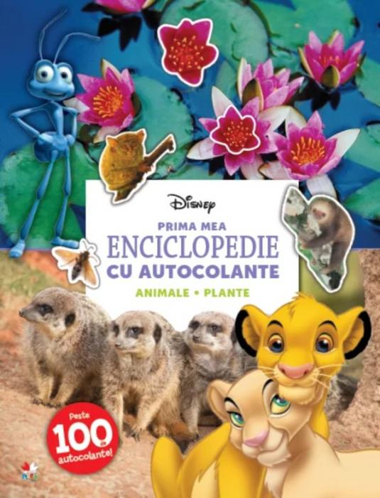 Prima mea enciclopedie cu autocolante. Animale. Plante [0]