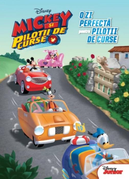 Mickey și piloții de curse. O zi perfectă pentru piloții de curse [0]