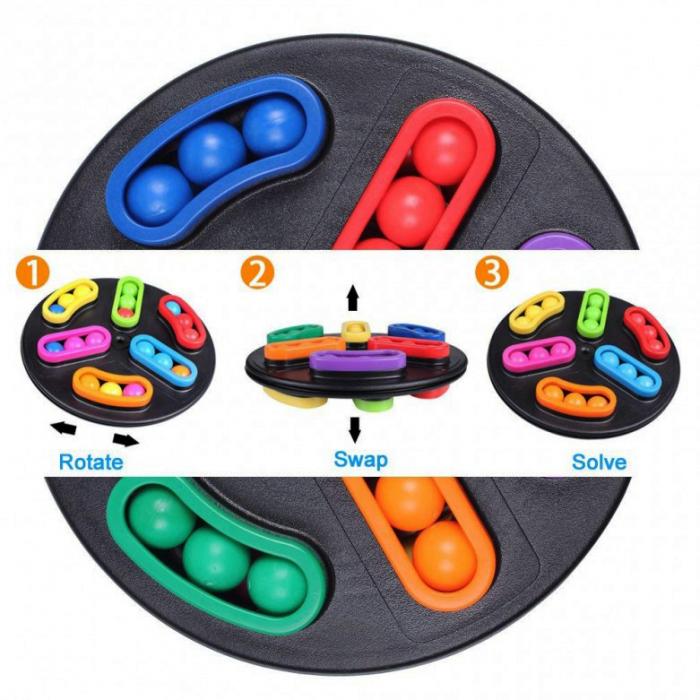 Joc de logică disc rotativ cu 2 fețe - Rotating disk [4]