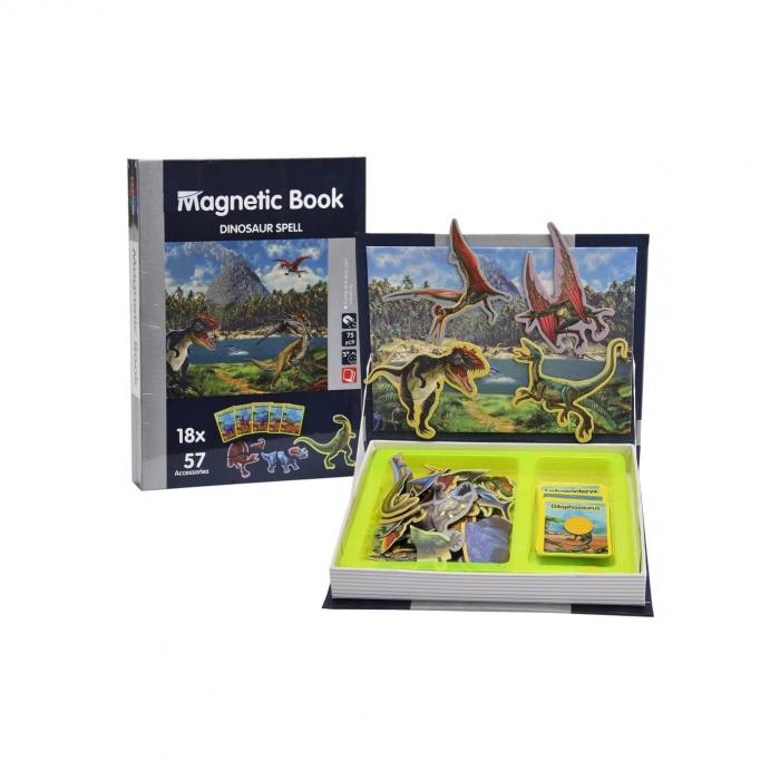Carte magnetică puzzle Dinozauri [0]
