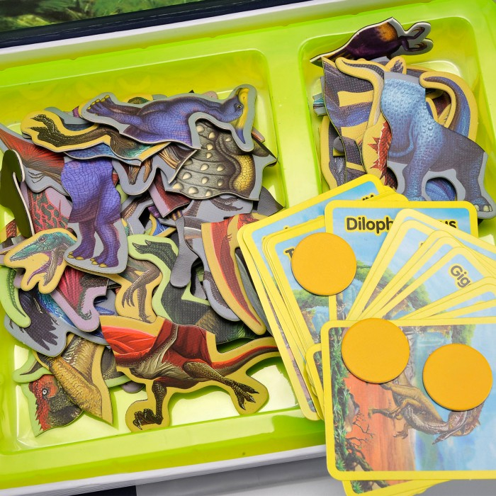 Carte magnetică puzzle Dinozauri [3]