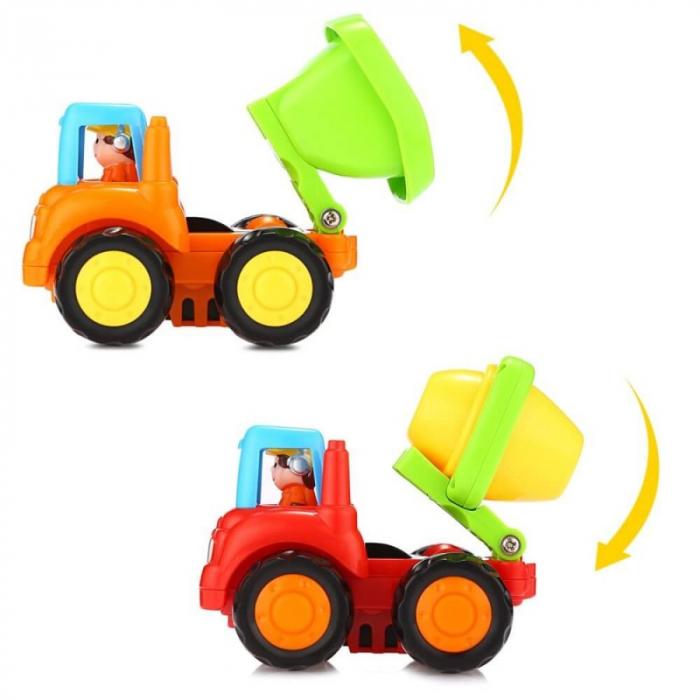 Set mașinuțe utilaje de construcții și munci agricole Hola [5]