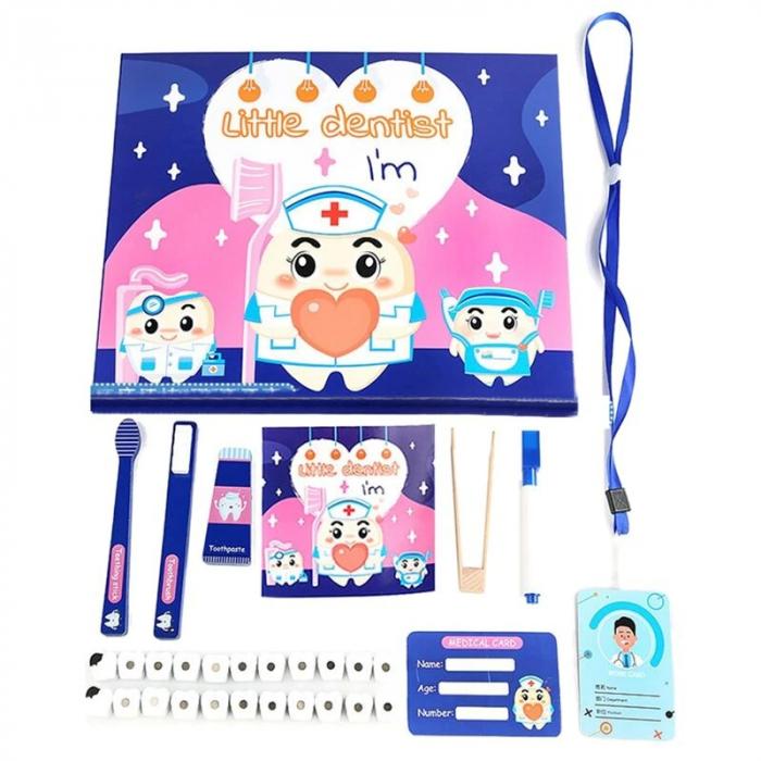 Joc de rol tip carte magnetică Micul dentist - Little Dentist [0]
