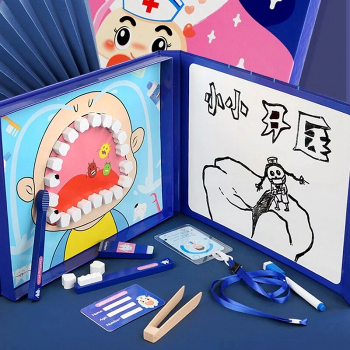 Joc de rol tip carte magnetică Micul dentist - Little Dentist [2]