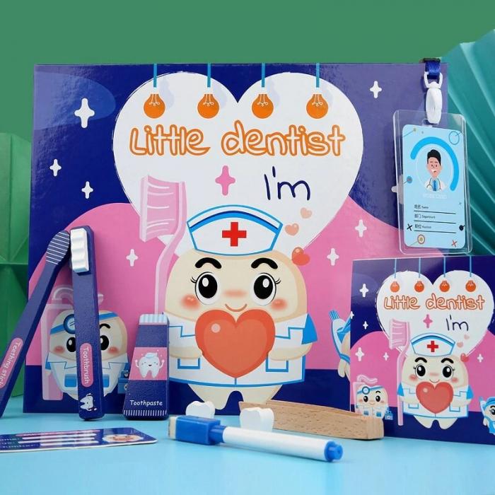 Joc de rol tip carte magnetică Micul dentist - Little Dentist [1]
