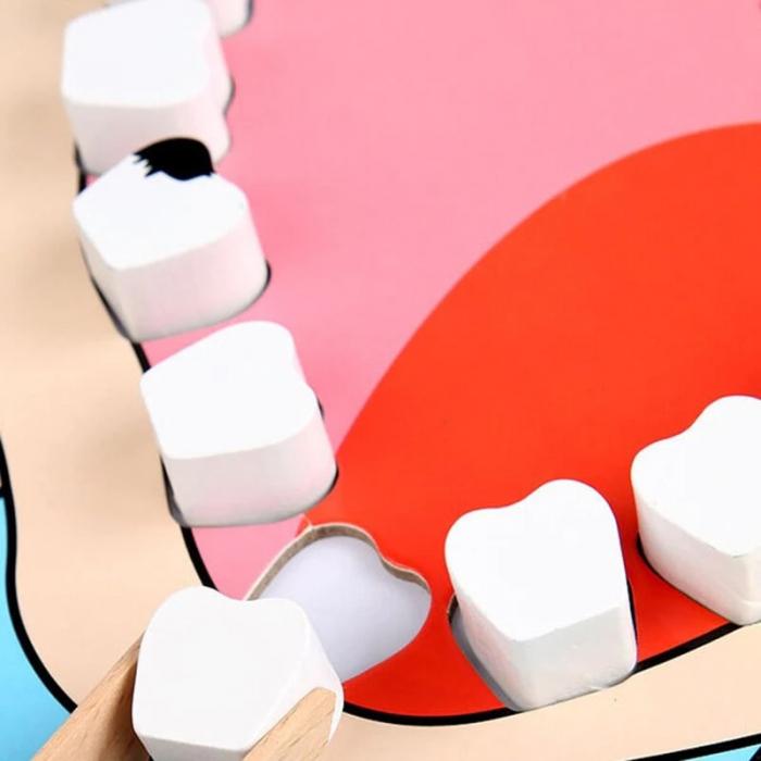 Joc de rol tip carte magnetică Micul dentist - Little Dentist [4]