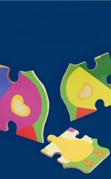 Puzzle animale de la fermă 44 piese - Farm Puzzle [1]