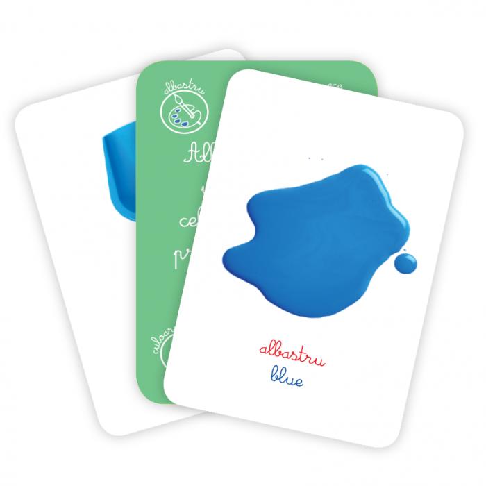 Cărți de joc Montessori -Clasificare CULORI [2]
