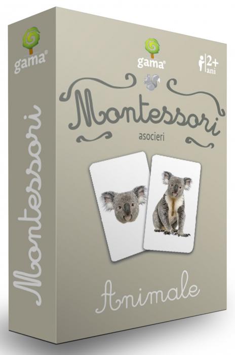 Cărți de joc Montessori -Asocieri ANIMALE [0]