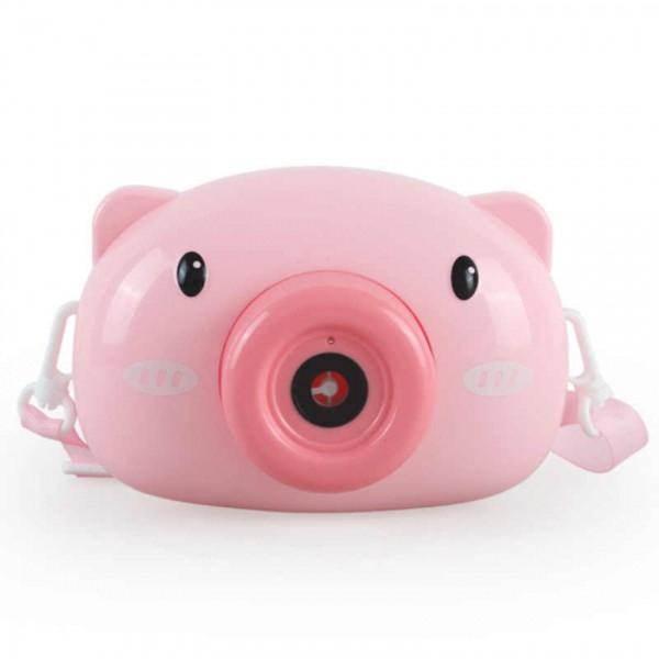 Aparat foto de jucărie de făcut baloane de săpun -design purceluș roz [0]