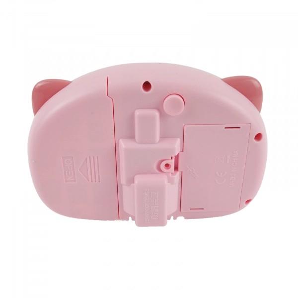 Aparat foto de jucărie de făcut baloane de săpun -design purceluș roz [5]
