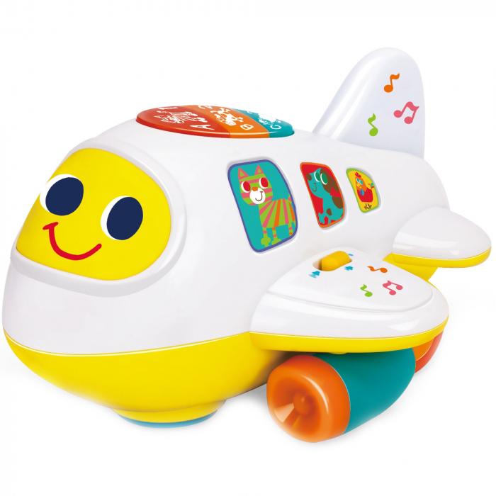 Avionul interactiv cu sunete și lumini Hola [1]