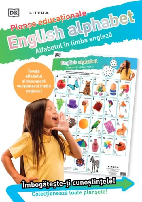 English Alphabet. Alfabetul în limba engleză. Planșe educaționale [0]