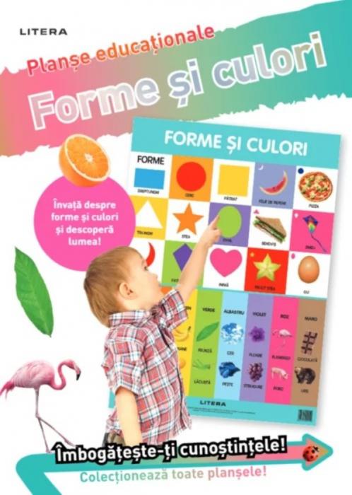 Forme și culori. Planșe educaționale [0]