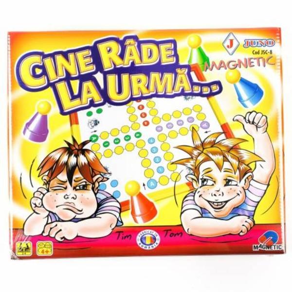 Joc cu tabla magnetica -  Cine râde la urmă [0]