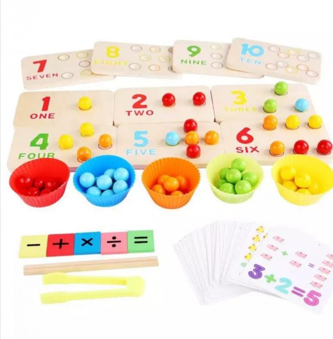Joc de tip Montessori de matematică și exersarea motricității - Digital Cognitive Pinch game [1]