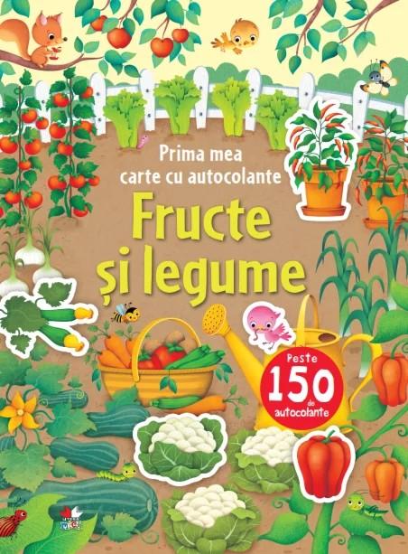 Prima mea carte cu autocolante. Fructe și legume [0]