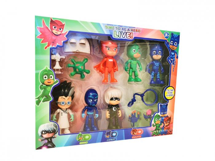 Set 6 figurine EROI ÎN PIJAMALE [0]