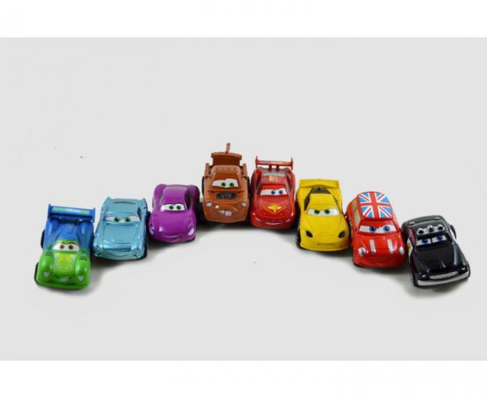 Set 8 maşinuţe din plastic High Speed Cars [1]