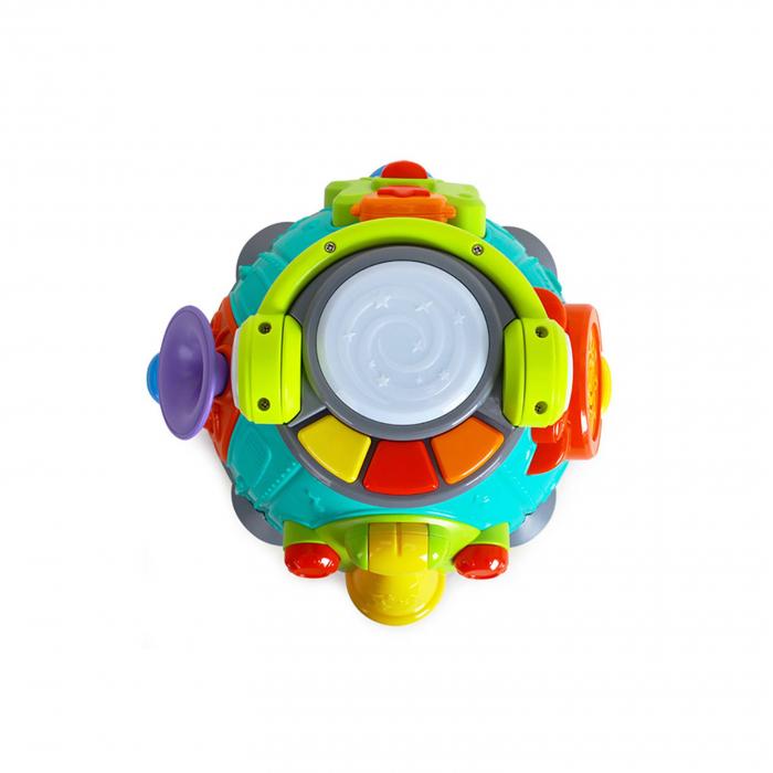 Stație muzicală Karaoke interactivă Hola -Little karaoke Space Capsule Activity toy [2]